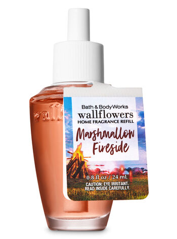 Marshmallow Fireside Wallflowers Fragrance Refill - Bath And Body Works
