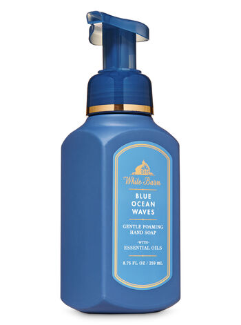White Barn Blue Ocean Waves Gentle Foaming Hand Soap - Bath And Body Works