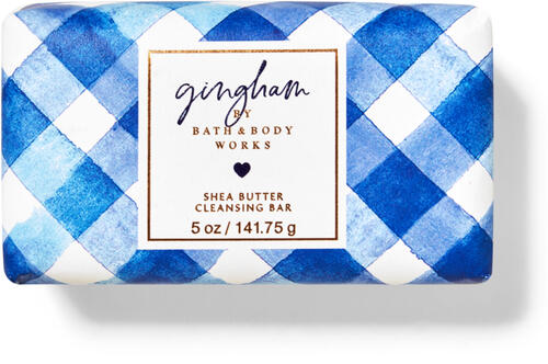 Gingham Shea Butter Cleansing Bar