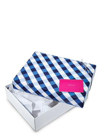 Small Gingham Gift Box Kit - Bath And Body Works