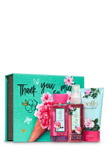 Hello Beautiful Mini Box Gift Set