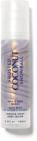 Frosted Coconut Snowball Frosted Swirl Body Lotion