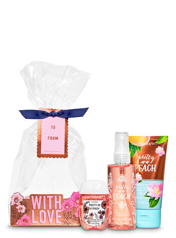 Pretty as a Peach Mini Gift Set - Bath And Body Works