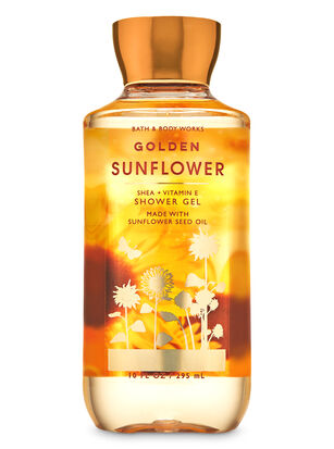 Golden Sunflower Shower Gel