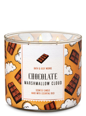 Chocolate Marshmallow Cloud 3-Wick Candle - Bath And Body Works