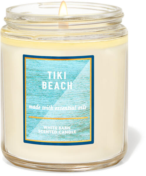 Tiki Beach Single Wick Candle
