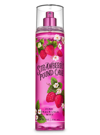 Strawberry Pound Cake Fine Fragrance Mist - Bath And Body Works