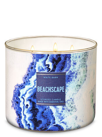 Beachscape 3-Wick Candle - Bath And Body Works