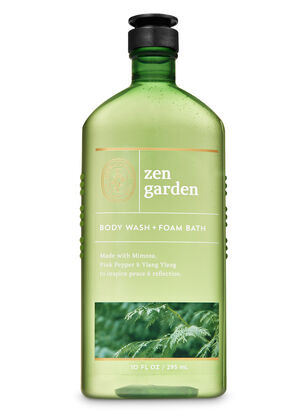 Zen Garden Body Wash and Foam Bath