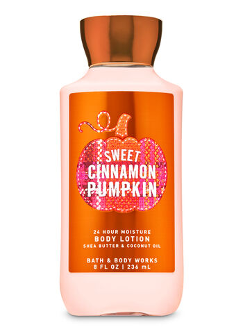 Sweet Cinnamon Pumpkin Super Smooth Body Lotion - Bath And Body Works