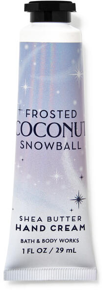 Frosted Coconut Snowball Hand Cream