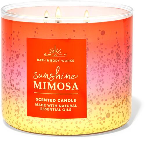Sunshine Mimosa 3-Wick Candle