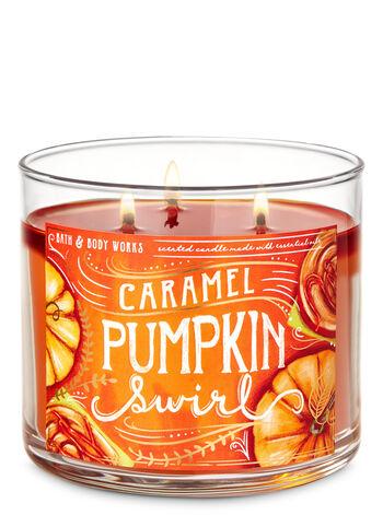 Bath & Body Works Caramel Pumpkin Swirl Candle