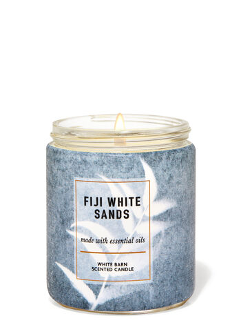 Fiji White Sands Single Wick Candle