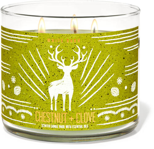 Chestnut & Clove 3-Wick Candle
