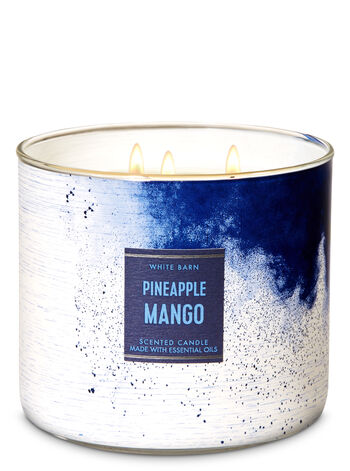 Pineapple Mango 3-Wick Candle - Bath And Body Works