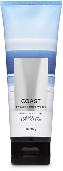 Coast Ultra Shea Body Cream