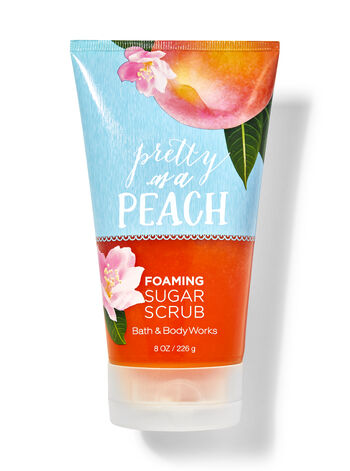 Pretty as a Peach Foaming Sugar Scrub