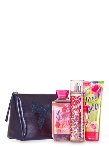 Sweet Pea Shimmer Bow Clutch Gift Set - Bath And Body Works