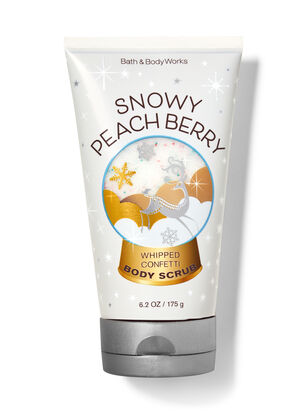 Snowy Peach Berry Whipped Confetti Body Scrub