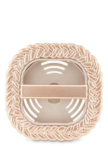 Braided Bevel Vent Clip Car Fragrance Holder