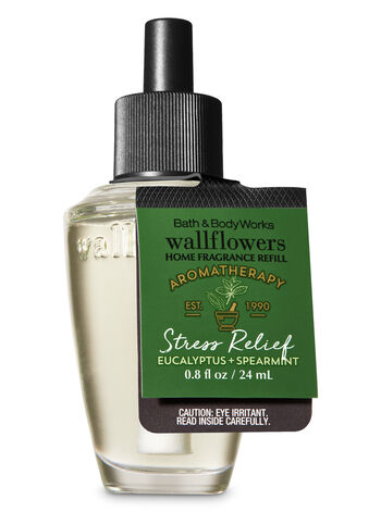 Aromatherapy Eucalyptus Spearmint Wallflowers Fragrance Refill - Bath And Body Works
