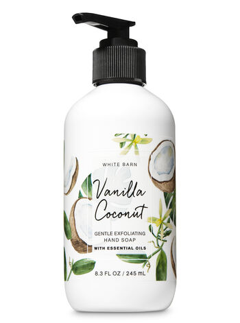 Vanilla Coconut Gentle Exfoliating Hand Soap - Bath And Body Works