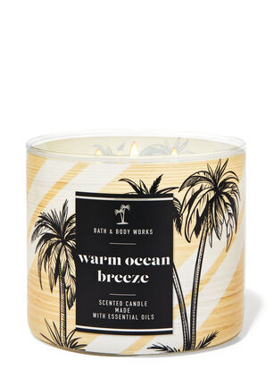 Warm Ocean Breeze 3-Wick Candle