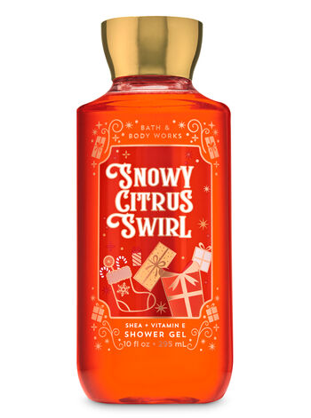 Snowy Citrus Swirl Shower Gel - Bath And Body Works