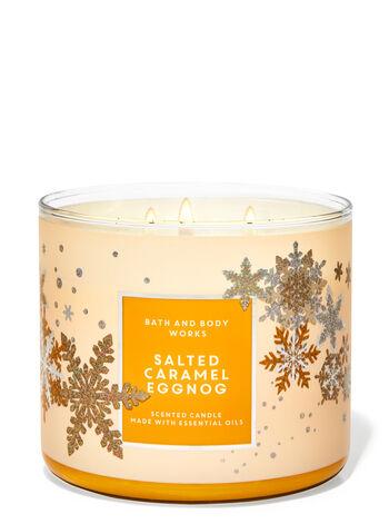 Salted Caramel Eggnog 3-Wick Candle