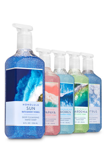 Crystal Cove Deep Cleansing Hand Soap, 5-Pack - Bath And Body Works