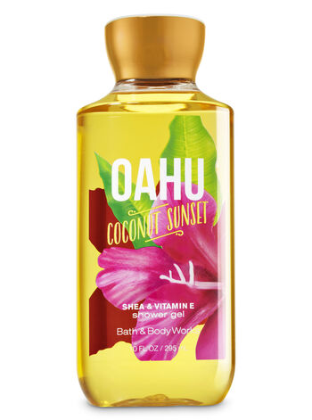 Signature Collection Oahu Coconut Sunset Shower Gel - Bath And Body Works