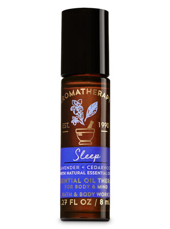 Aromatherapy Lavender Cedarwood Essential Oil Rollerball - Bath And Body Works