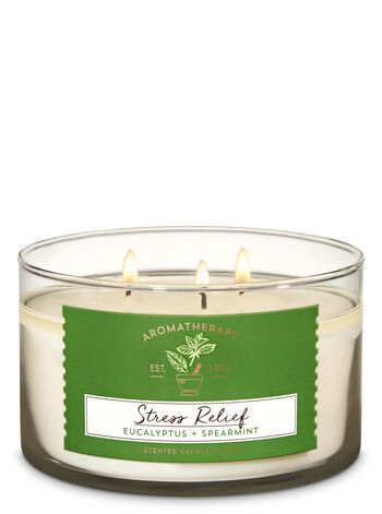 Eucalyptus Spearmint 3-Wick Candle - Bath And Body Works