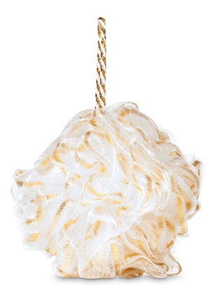 Gold Ribbon Loofah