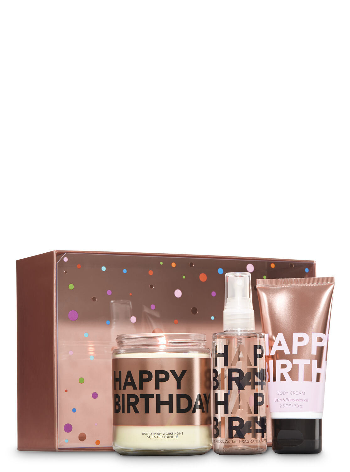 Happy Birthday Celebrate Gift Set