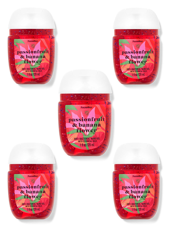 Passionfruit & Banana Flower PocketBac Hand Sanitizers, 5-Pack
