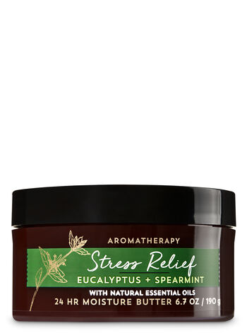 Aromatherapy Stress Relief - Eucalyptus & Spearmint Body Butter - Bath And Body Works