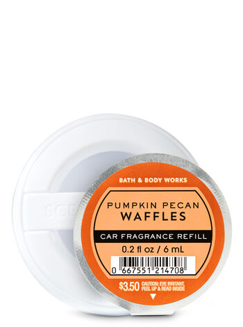 Pumpkin Pecan Waffles   Car Fragrance Refill    by Bath & Body Works