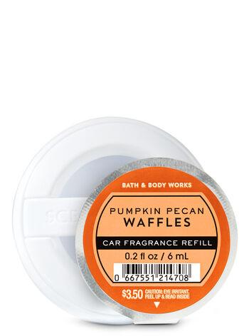 Pumpkin Pecan Waffles Car Fragrance Refill - Bath And Body Works