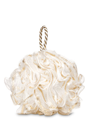 Gold Ribbon Loofah - Bath And Body Works