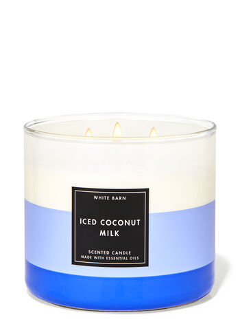 Iced Coconut Milk 3-Wick Candle