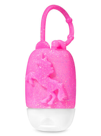 Pink Glittery Unicorn PocketBac Holder - Bath And Body Works