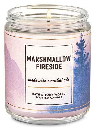 Marshmallow Fireside Single Wick Candle