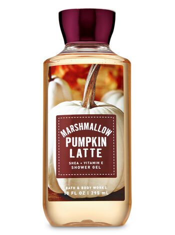 Marshmallow Pumpkin Latte Shower Gel - Bath And Body Works