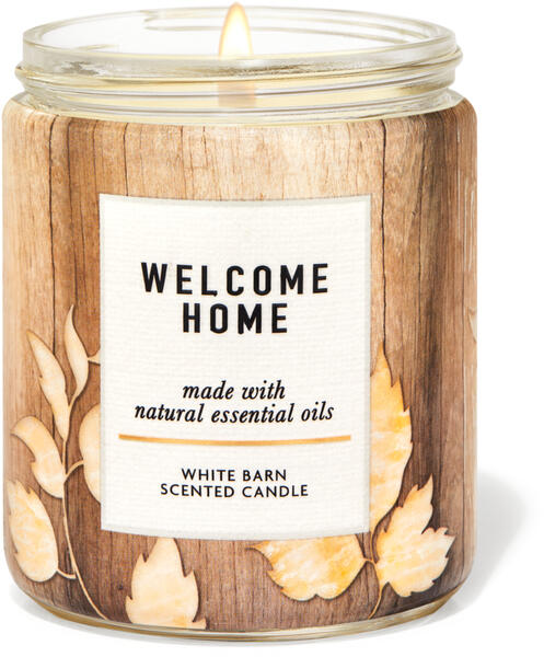 Welcome Home Single Wick Candle