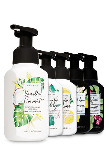 Natural Spring Faves Gentle Foaming Hand Soap, 5-Pack - Bath And Body Works