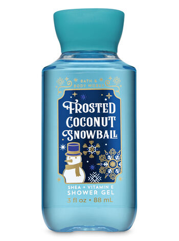 Frosted Coconut Snowball Travel Size Shower Gel - Bath And Body Works