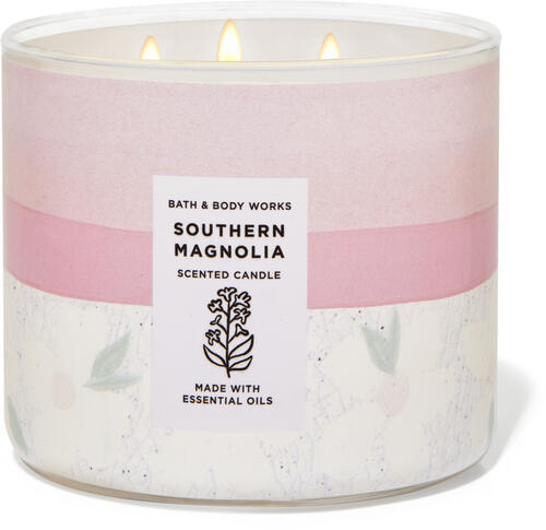Southern Magnolia 3-Wick Candle