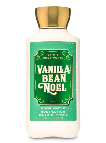 Vanilla Bean Noel Super Smooth Body Lotion - Bath And Body Works
